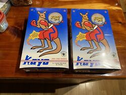 Kayo Boxing Cards Premier Edition 1991-1992andnbspfactory Sealed 2 Box Lot Roy Jones