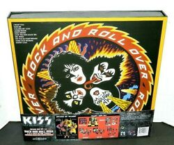 Kiss Rock And Roll Over Deluxe Boxed Set New Sealed Rare Sdcc Exclusive Set 2021