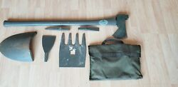 Max Axe Multi Purpose Military Pioneer Tool Kit Forrest Shovel Pick 7 In 1