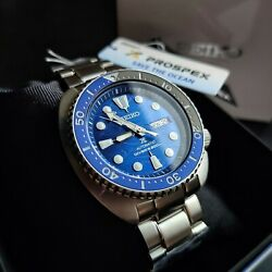 Seiko Prospex Srpd21k1 Special Edition Turtle And039save The Oceanand039 Great White Watch
