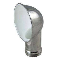 Boat Round Air Vent Elbow Ducting Ventilation Duct Stainless Steel Connector
