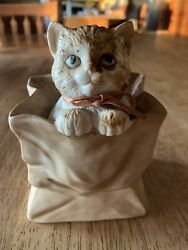 Cat In A Bag The San Francisco Music Box Company 1991 You Light Up My Life