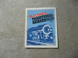 1986 LIONEL TRAINS TRADITIONAL CATALOG VERY GOOD