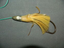 Vintage Antique Fishing Tackle Lure Large Jig Head Tuna Saltwater Extremely Rare