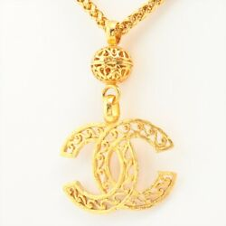 Coco Mark 95a Necklace Gold Plated Gold