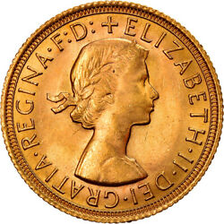 [867344] Coin, Great Britain, Elizabeth Ii, Sovereign, 1968, Ms63, Gold