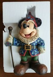 Disney - Mickey Mouse Thereand039s No Place Like Gnome Large Figurine By Jim Shore