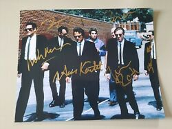 Photo Cast Hand Signed Reservoir Dogs 8x10 With Coa Rare