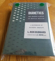 Dianetics L. Ron Hubbard - 1st Edition-1st Printing 1950 - Exquisite Condition