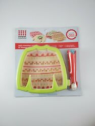 Ugly Christmas Sweater 6 Cookie Cutter And Stamp Roller Sweet Creations Holiday