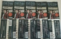 Harry Potter And The Deathly Hallows Part 2. Lot Of 10 Sealed Packs