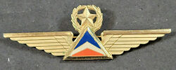 Vintage 1960's Delta Airlines Captains Wings Pin Aviation