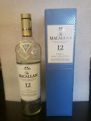 The Macallan 12 Year Triple Cask Scotch Whisky Empty Bottle And Box Highland