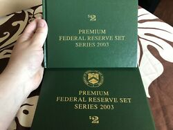12 District Matching 00000995 Premium Federal Reserve Set 2003 2 Star Notes