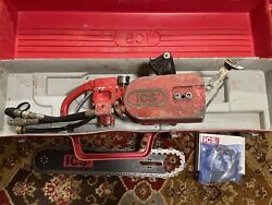 Concrete Chainsaw Ics 823 H With Bar And 2 Chains