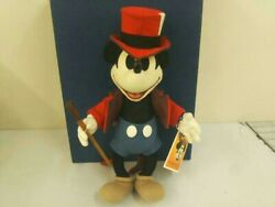Mickey Mouse Plush Doll Disney R.john Wright Character Goods Toy
