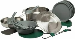 Stanley Base Camp Cook Set For 4   21 Pcs Nesting Cookware Made From Stainless S