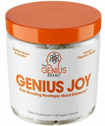 Genius Joy Serotonin Mood Booster For Anxiety Relief Brain Support