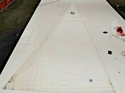 Furling Mainsail By Neil Pryde For Beneteau 411 In Good Conditions - 40.2' Luff