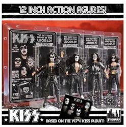 Kiss Figure 12 Inch Set Of 4 Toy Doll First Album Set Series 2 New Retro New
