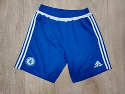 Chelsea Fc Home Shorts Adidas Sample Soccer Size 40/42