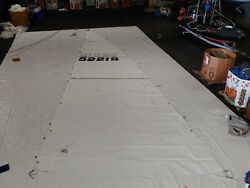 Dacron Mainsail For Beneteau 411 By Doyle In Excellent Condition 40.2' Luff