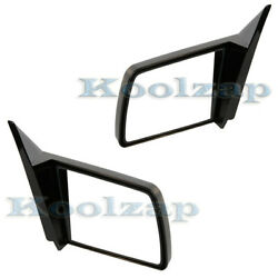 Chevy Pickup Truck C/k Manual Sport Rear View Mirror Left And Right Side Set Pair