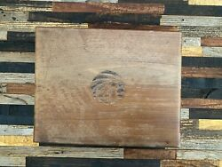 Antique Wood Cigar Tobacco Box Country Store Smoking Old