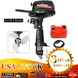 6.5 Hp 4 Stroke Outboard Motor Marine Boat Engine Water Cooling System Control