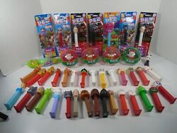 Big Lot Of Collectible Pez Dispensers Look Lot 2