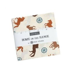 Moda FABRICS quot;HOME ON THE RANGEquot; charm packs 42 5 INCH SQUARES