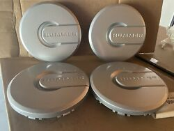 Gm 9594463 9594461 Silver Painted Hubcap -- H2 Hummer -- Set Of 4 -- Nos