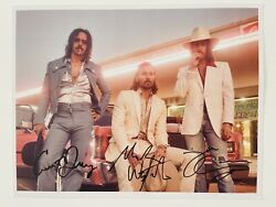 Signed Midland Band Electric Rodeo Tour Photo Print 11x8.5 Mint Rare Version