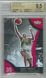 2007-08 Kevin Durant Topps Finest Refractor Rc... Graded Bgs 9.5 Gem Mint