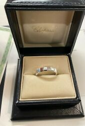 Chopard Ring White Gold Ice Cube
