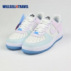 Nike Air Force 1 And03907 Lx Uv Reactive Womenand039s Size 8.5 Da8301-100 Ready To Ship