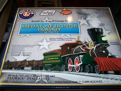 Lionel Medal Of Honor Train Set W/smoke/sound Additional Rail King Cannon Car