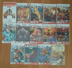 Fantastic 4 The World's Greatest Comic Magazine All-new Marvel Now Lot Of 14