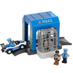 Plastic Toy Police Station Car Wash Room Fire Dept With Track Children's Toys
