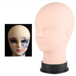 Makeup Massage Practice Training Head Face Model Cosmetology Mannequin