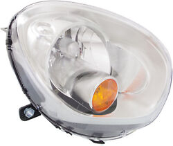 For Cooper Countryman 11-16 Head Lamp Rh, Assembly, Halogen, W/ Yellow Turn Sign
