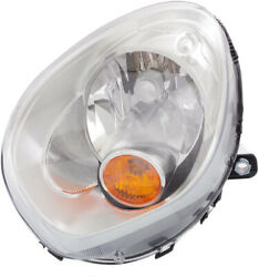 For Cooper Countryman 11-16 Head Lamp Lh, Assembly, Halogen, W/ Yellow Turn Sign