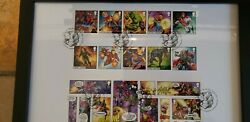 Marvel Heros Limited Edition Stamp Collection. First Day Of Issue Limited To...