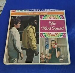 Sealed B478 The Mod Squad Bad Man On Campus Tv Show View-master Reels Packet