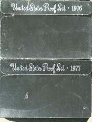 1976 And 1977 Us Proof Set Cl-172