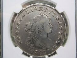1803 Draped Bust Silver Dollar 1 Ngc Vf Details East Coast Coin And Collectables