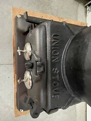 Union Stove Works Cast Iron Potbelly Stove