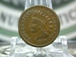 1877 Indian Head Cent Penny 1c 4 East Coast Coin And Collectables Inc.