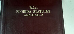 West's Florida Statutes, Annotated, 78 Volumes, Law Library,