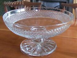 St Louis Crystal Maintenon Oversized Footed Bowl - Enormous Ref2151